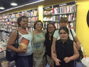 Con Pepa, Sany y Loreto