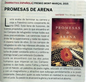 Revista Que leer-promesas de arena