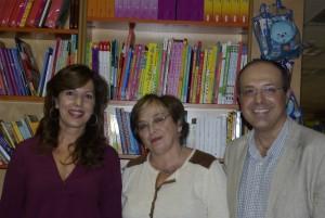 Mar Téllez, Concejal de Cultura, en la presentación de Promesas de arena