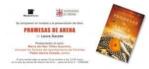 Presentación Promesas de arena en el Ayuntamiento de Córdoba