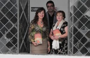 Presentación en Cultura Cordoba Mar Téllez, Pablo García Casado y Laura Garzon