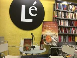 Presentación en librería Lé