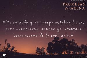 Promesas de arena, Laura Garzón