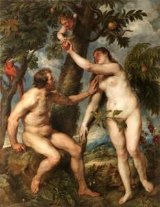Adan y Eva, Rubens