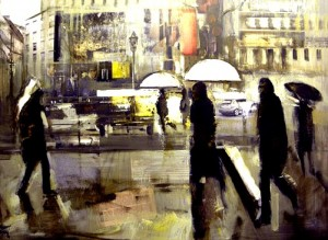 Día de lluvia. Ernest Descals