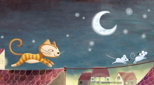 Bombón no es una gata cualquiera. Es una gata libre y callejera.