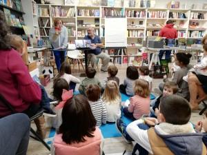 Presentación en librería Intempestivos - Segovia